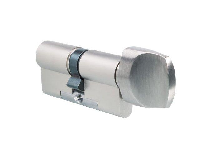 EVVA bezpečnostní cylindrická vložka FPS s knoflíkem (RC 3)