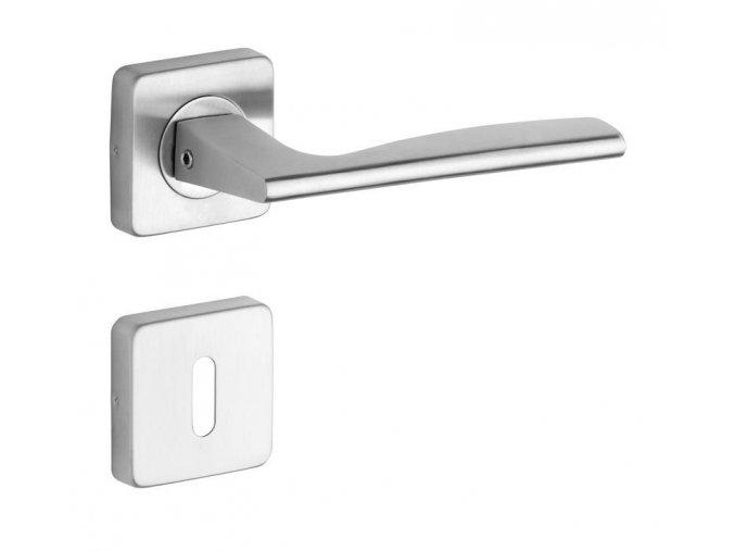 ROSTEX dveřní kování NOVARA/H (NEREZ MAT)