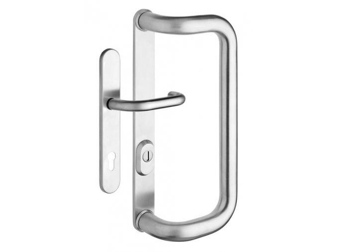 ROSTEX dveřní madlo G se štítem, krytem a klikou