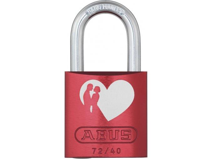 ABUS 72 40 LOVE LOCK 1