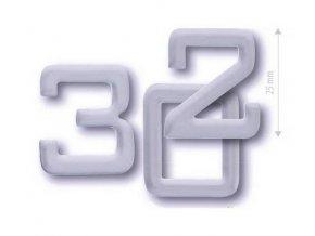 cobra číslice 25 mm