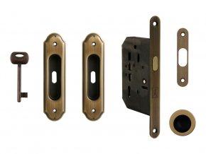 Set na posuvné dveře MP BB/S OGS (rustikální)