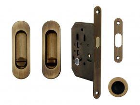 Set na posuvné dveře MP WC OGS (oválný)