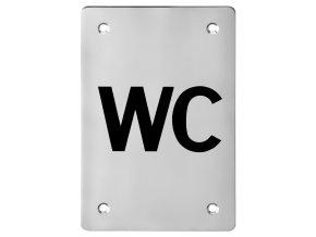 Piktogram ACT WC HR (nerez)
