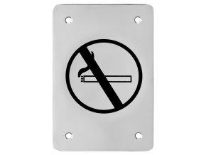 Piktogram ACT Zákaz kouření HR (nerez)