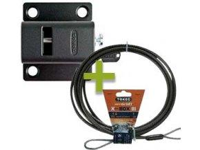 Uzamykatelný mechanismus TOKOZ X SAFETY BOX IV PRO 400 s lankem