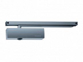 Zavírač dveří s kluznou lištou GEZE TS 3000 V (stříbrný)
