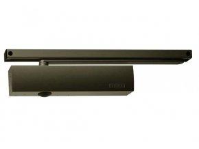Zavírač dveří s kluznou lištou GEZE TS 5000 (hnědý)
