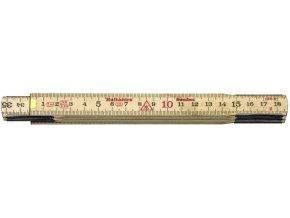 Hultafors SKLÁDACÍ METR DŘEVĚNÝ 1 m 59-1-6 (100204)