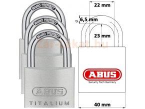 ABUS 727TI 40HB63 TRIPLES