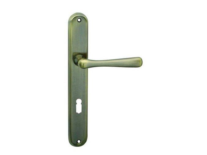 Cobra dveřní kování ELEGANT (bronz)