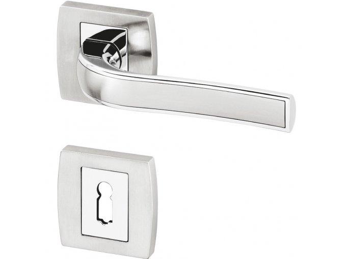 ACT dveřní kování GRACIOSA R HR (chrom/ef. nerez)