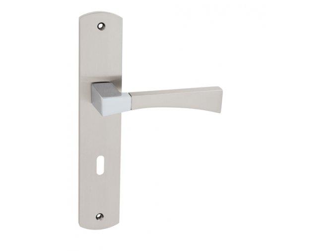 WB dveřní kování DEO 040 (chrom/nikl)