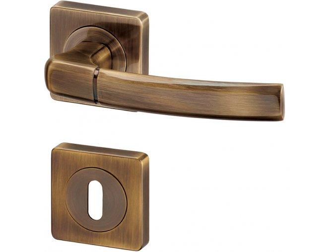 ACT dveřní kování KIEL R HR (bronz)