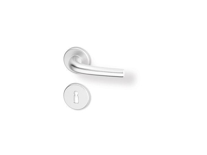 ACT dveřní kování ANNA R PK (hliník)