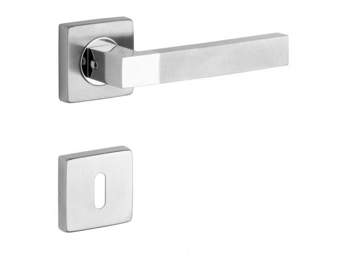 ROSTEX dveřní kování TORINO/H (nerez)