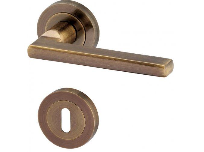 ACT dveřní kování LEIPZIG R (bronz)