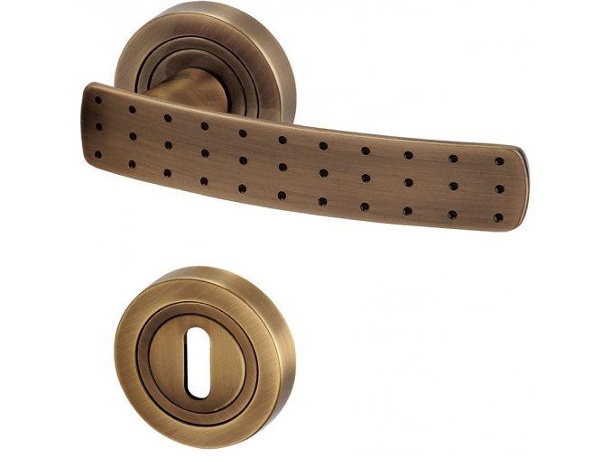 ACT dveřní kování BREMEN R (bronz)
