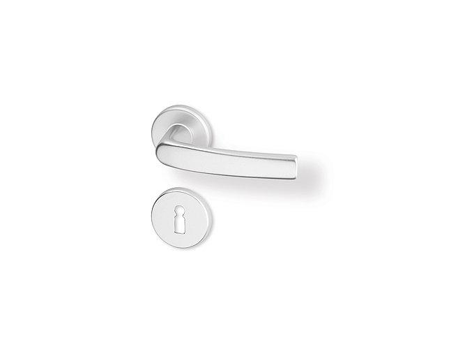 ACT dveřní kování LARA R PK (hliník)