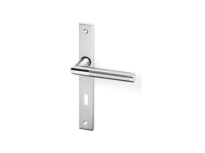 ACT dveřní kování LUKA UŠ (chrom/nerez)