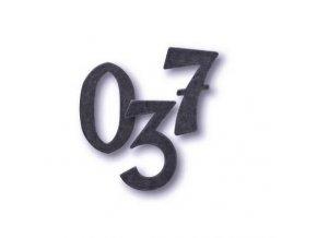 Cobra Kované číslice a písmena