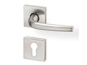 ACT dveřní kování APOLL R HR PK (nikl)