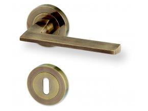 ACT dveřní kování DRESDEN R (bronz)