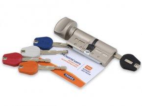 Bezpečnostní cylindrická vložka TOKOZ PRO 400 (RC4) s knoflíkem