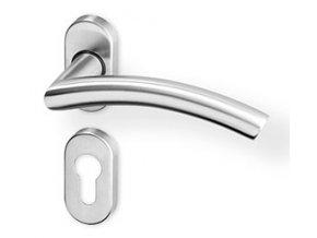 ACT dveřní kování PIPA R OV PK (nerez)