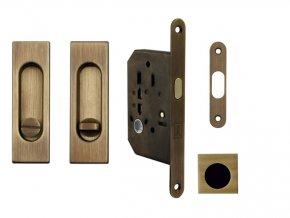 MP Set pro posuvné dveře WC Hranatý OGS