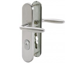 Bezpečnostní kování VERONA - klika/klika, široký štít s překrytím FAB