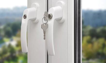 Bezpečnostní okenní kliky
