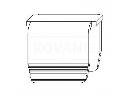 DV005 ppic MACO Befestigungsklammer Stulpfluegelgetriebe Euronut 94035 0