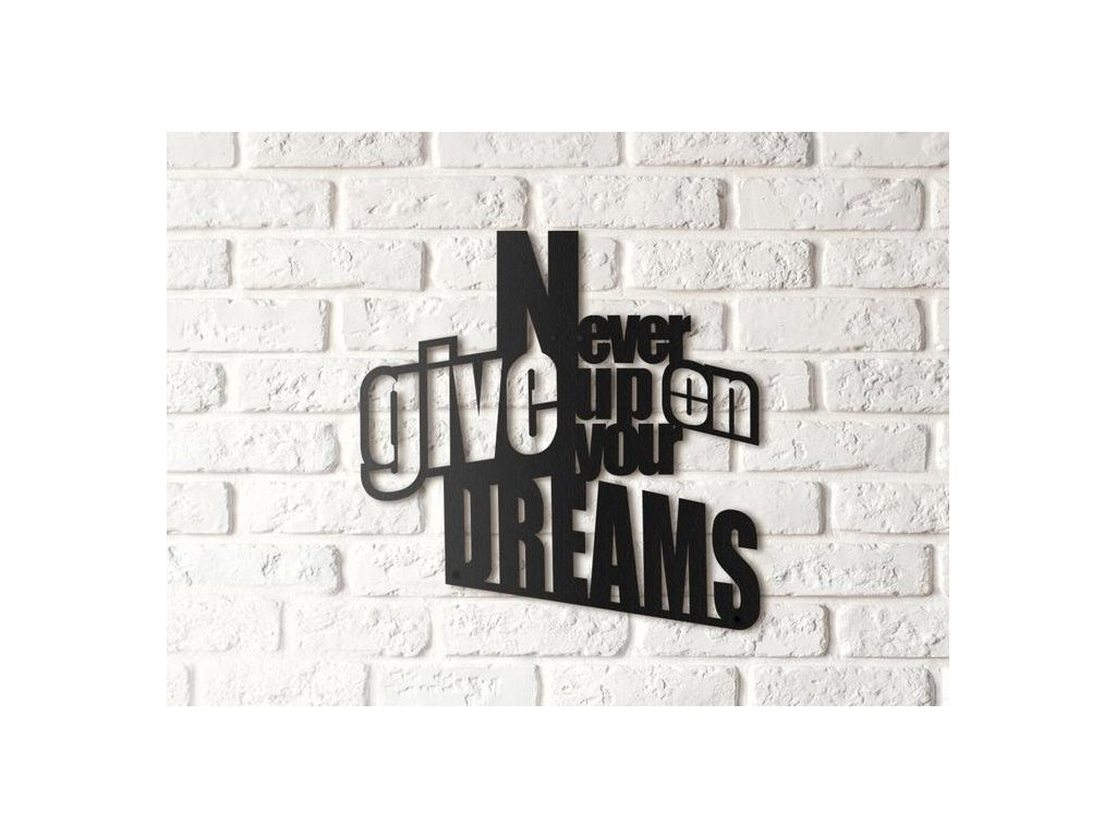 NEVER GIVE UP YOUR ON DREAMS