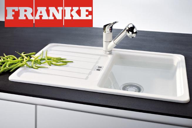 Čistenie kuchynských drezov FRANKE