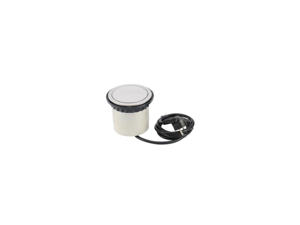 Elektrická zásuvka GTV COMFORT s USB  3x220V + 1xUSB