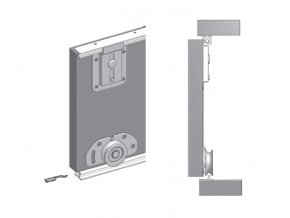 Lower hardware FAST 50R no 8811