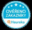 Naše hodnocení na portálu heureka.cz