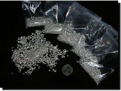 Stříbro granulové, 1 unce (31,103g)