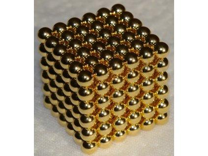 NeoCube - GOLD, 5mm - dárkové balení