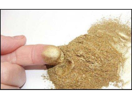 Bronz práškový - zlatá barva, 10g