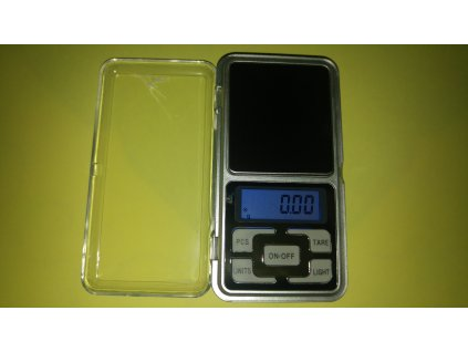 Digitální váha MH 500g/0,01g + baterie zdarma