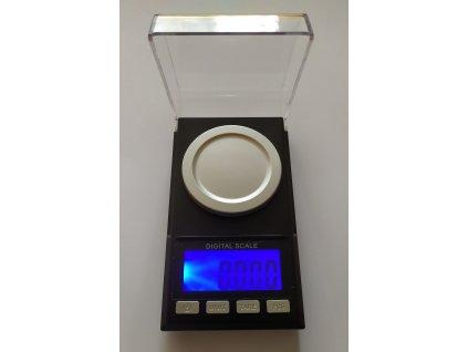 Analytická digitální váha black USB 50g/0,001g