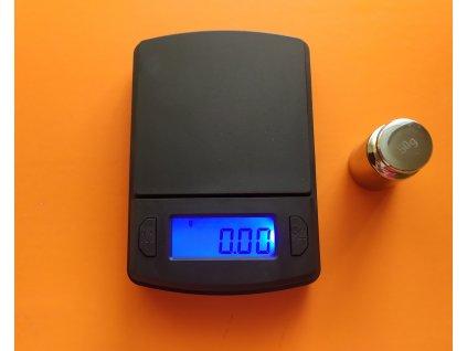 Digitální mini váha 200g/0,01g + baterie zdarma