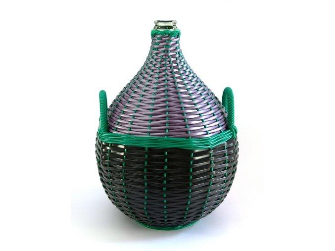 Demižon skleněný opletený 25L (balík max.2ks)