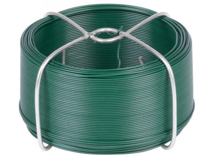 Drát vázací 1,2mm/50m PVC zelený  GREENYARD