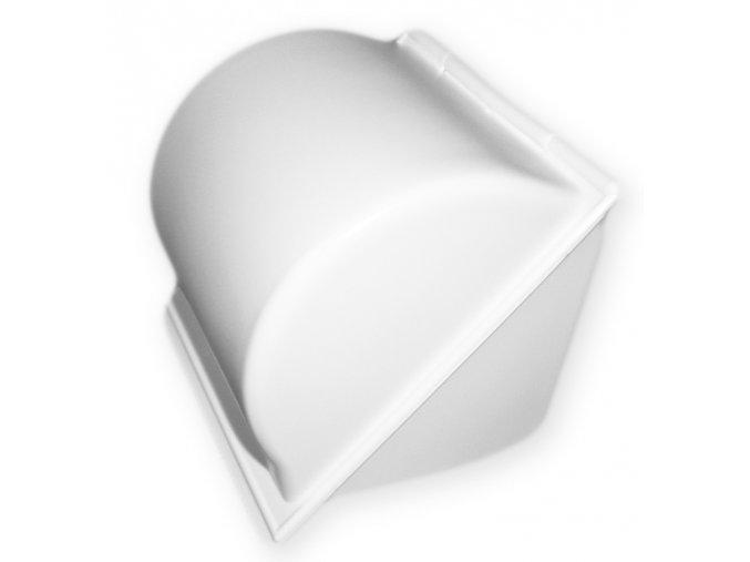Držák WC papíru plast schránka  CZ, mix barev