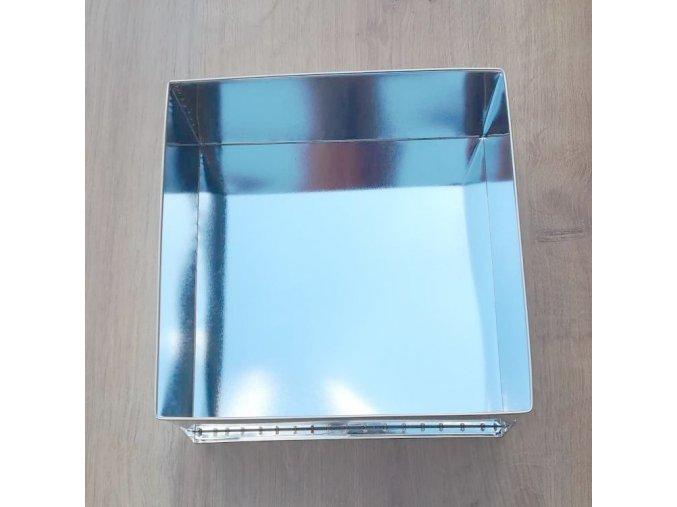 Forma dortová čtverec 30x30cm  CZ