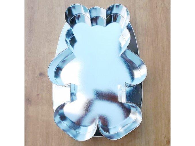 Forma dortová medvěd 35x25,5cm  CZ