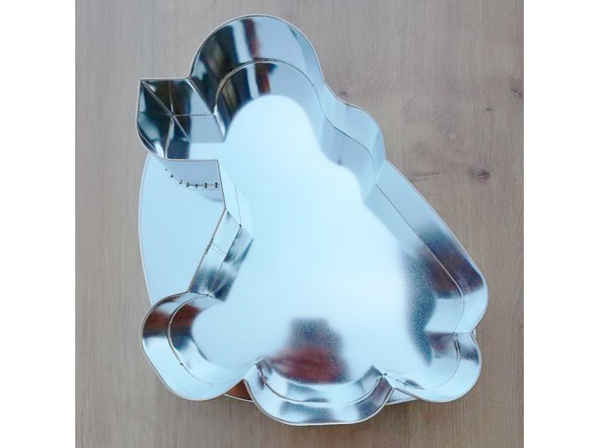 Forma dortová pes sedící 30x25cm  CZ